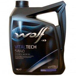Двигателно масло WOLF VITALTECH 5W40 5л